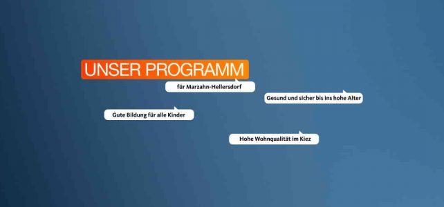 Unser Programm
