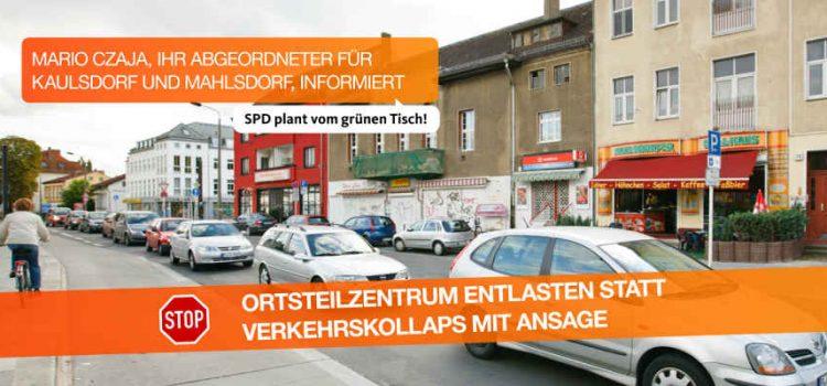 Verkehrslösung Ortsteilzentrum Mahlsdorf