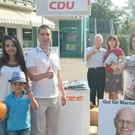 Wahlkampf am MixMarkt